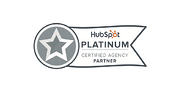 Hubspot Platinum Certified Agency Partner Tangible Words