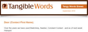 Email Marketing Mistake