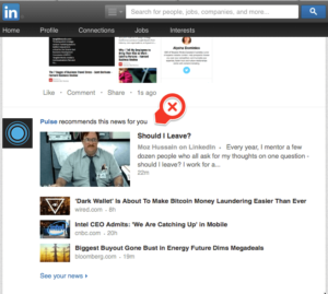 LinkedIn Content Marketing Working