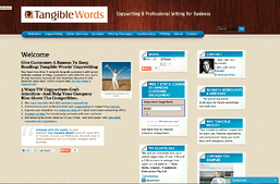 Old Home Page Tangible Words