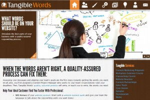 Tangible Words New Website