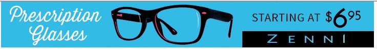 Zenni glasses