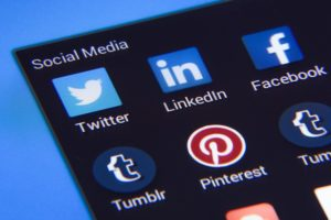 economic development website and social media