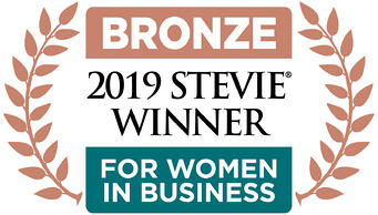 Bronze_Winner 2019 Stevie award for women in business