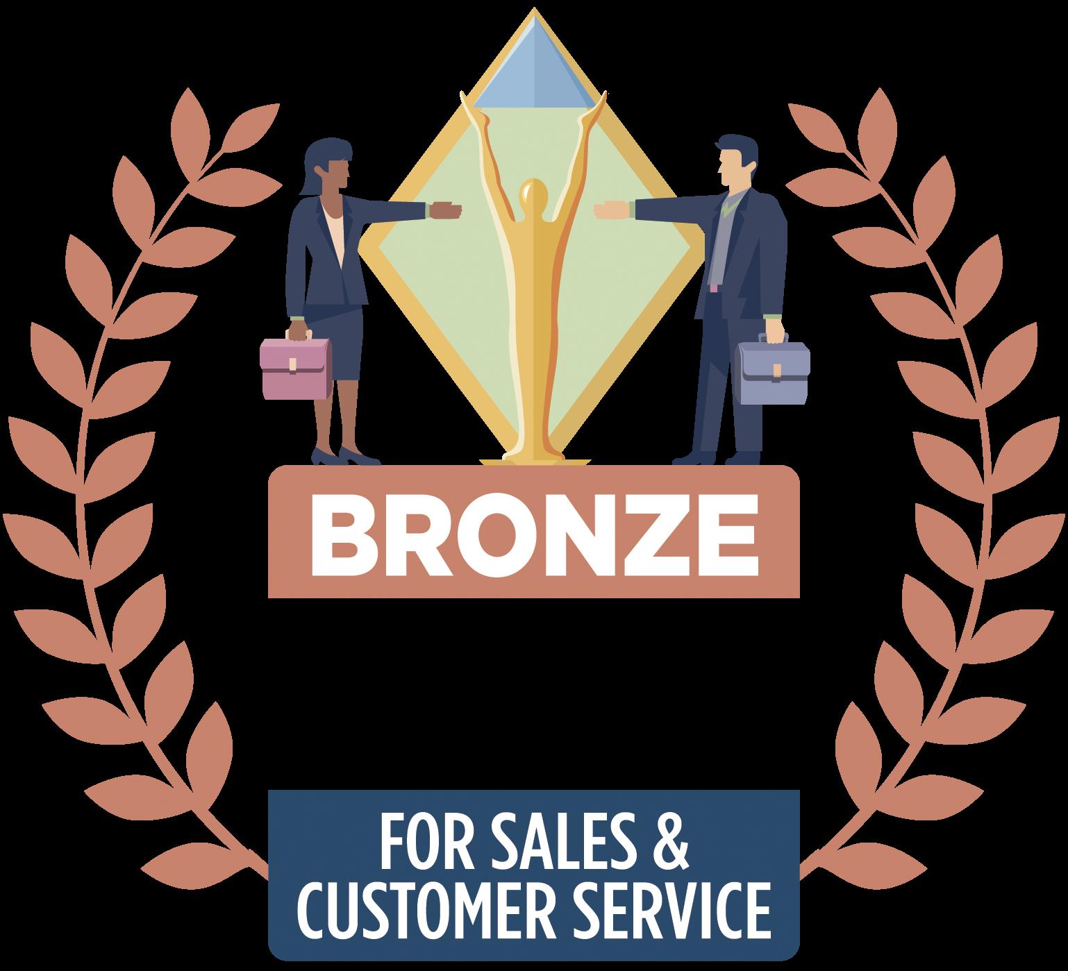 Sales Award 2020: Stevie Bronze for Sales Growth Achievement
